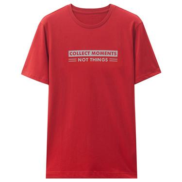 男裝休閒短袖印花T恤