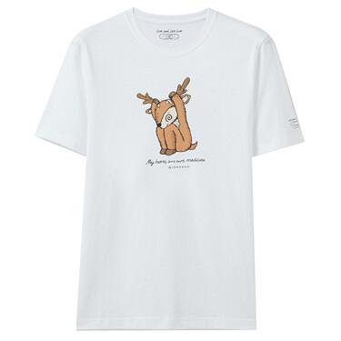 Live & Let Live 男裝保護動物印花T恤