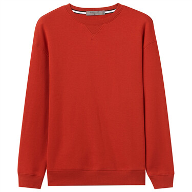 Thick fleece-lined sweatshirt