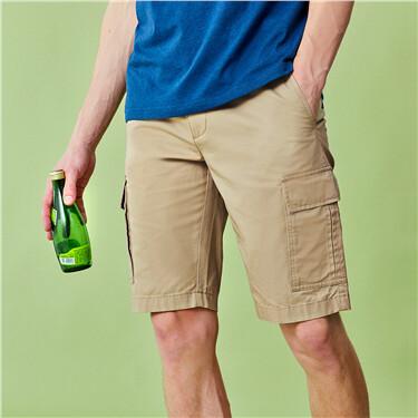 Lightweight cargo shorts