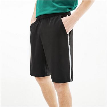 黑科技3M弹力速干拼色边薄款短裤