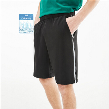High-tech 3M contrast lightweight shorts