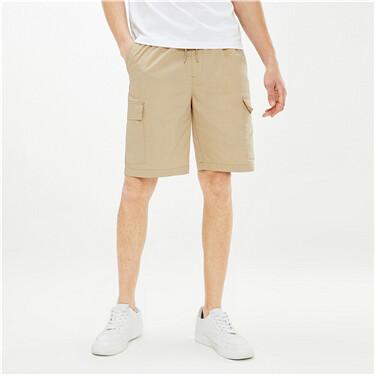 High-tech cool cargo shorts