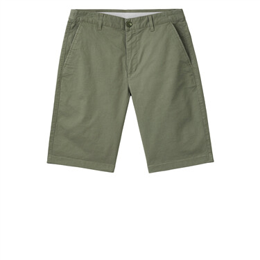 Plain lightweight mid-low rise shorts