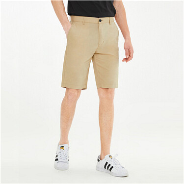High-tech cool mid-rise shorts