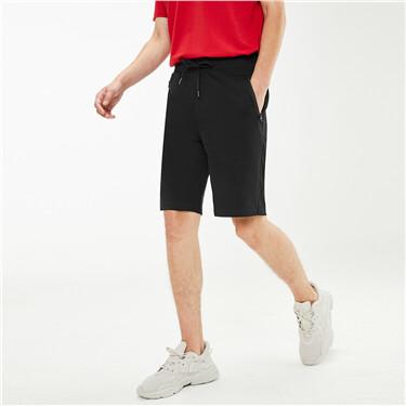 黑科技凉感快干拉链口袋休闲短裤