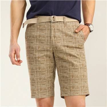 Printed casual shorts