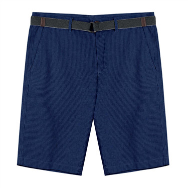 Linen slim fit shorts(with belt)