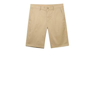弹力棉中低腰修身休闲短裤
