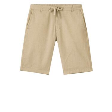 Solid Drawstring Casual Shorts
