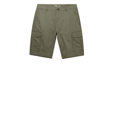 Stretchy mid-low rise slim casual shorts
