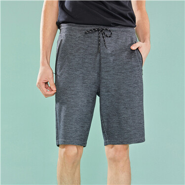 Mens G-MOTION double-knit casual shorts