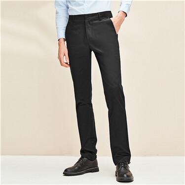 Wrinkle-free stretchy slim pants