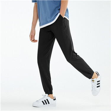 黑科技3M弹力速干可收纳薄款休闲裤