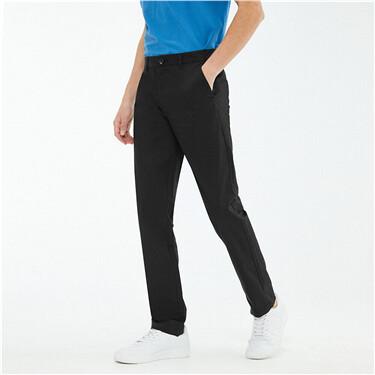 黑科技凉感薄款修身休闲长裤