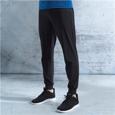 男裝G-Motion抽繩鬆緊腰運動束腳褲