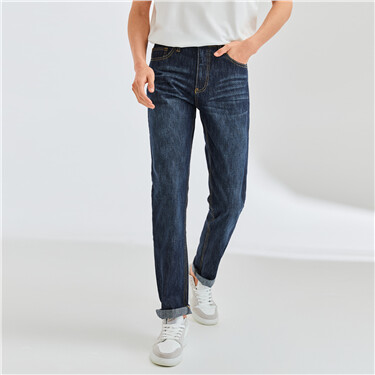 Classic mid rise jeans