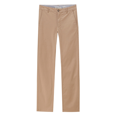 Plain stretchy slim pants