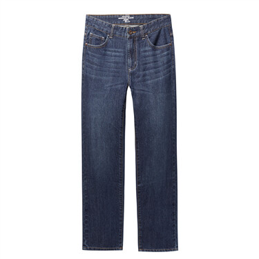 Mid rise modern jeans