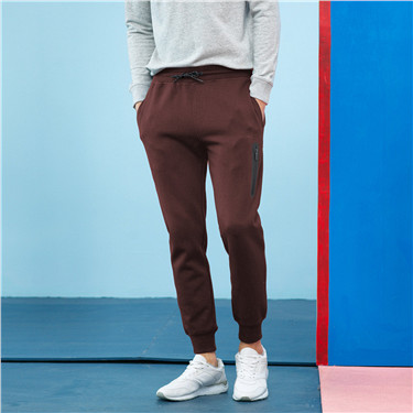 Double knitted zip joggers (Men