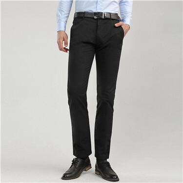 Stretch slim fit pants