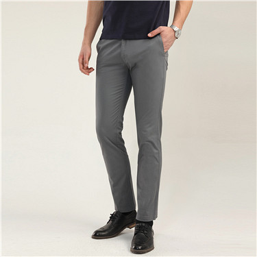 Stretch tapered pants