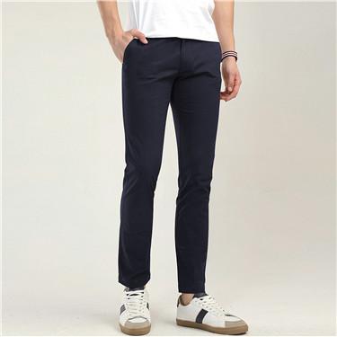 男裝低腰修身休閒長褲