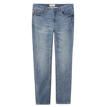 Mid rise slim fit denim jeans