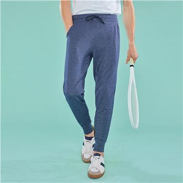 Drawstring knit joggers