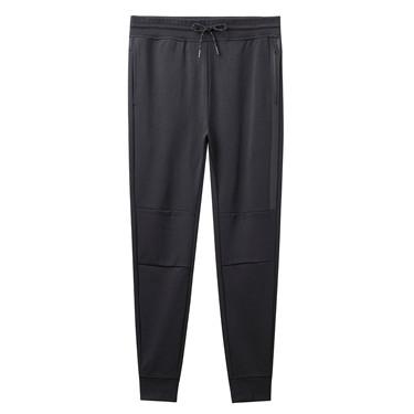 Thick polar fleece solid jogger pants
