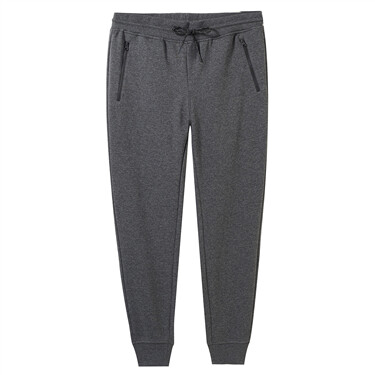 Polar fleece elastic waistband joggers