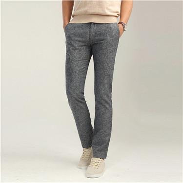 Low rise linen pants