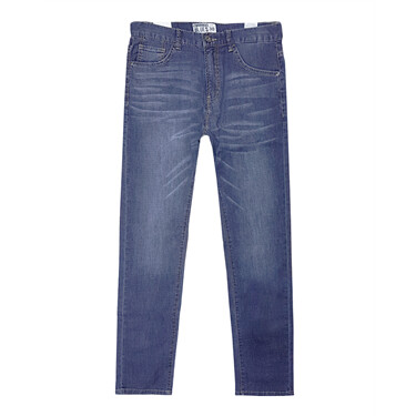 Pocket denim jeans