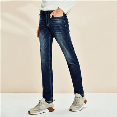 Mid Rise Slim Fit Jeans
