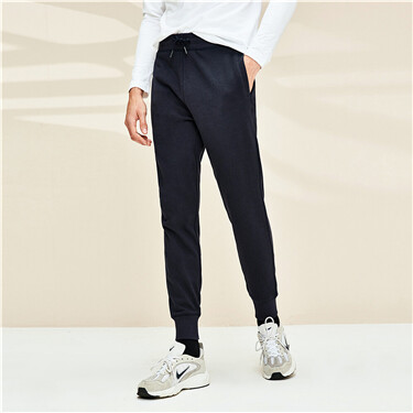 G-MOTION drawsting jogger