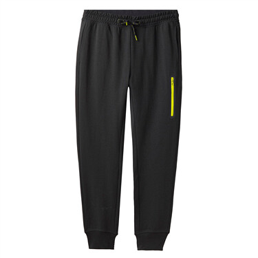Men Zip Pocket Slim Pant
