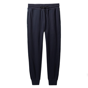 Mens G-MOTION Double Knit Letter Jogger Pants