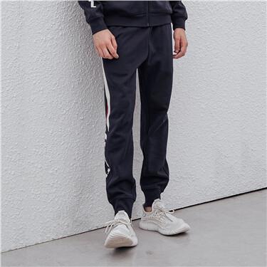 男裝G-MOTION側邊字母運動束口褲