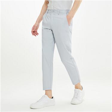 黑科技凉感薄款中低腰休闲九分裤