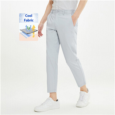 Lightweight cool stretchy slim pants