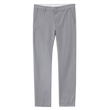 Stretch slim tapered cropped pants