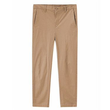 Stretchy slim ankle-length pants