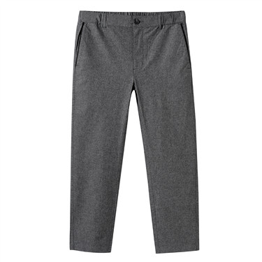 Strechy Elastic Waistband Low Rise Ankle Pants