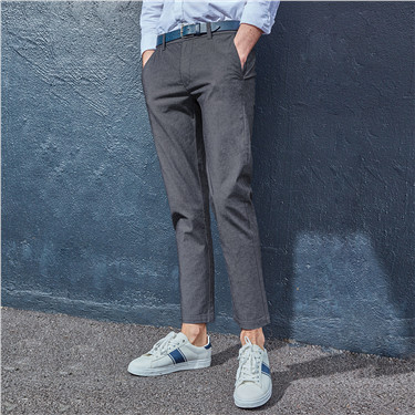 Mid-low rise ankle length pant