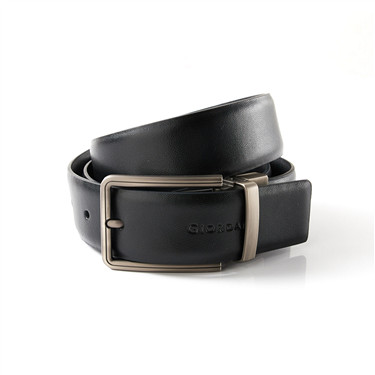Two-layer metal buckle belt