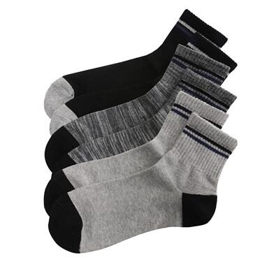 3 pairs gentle contrast socks