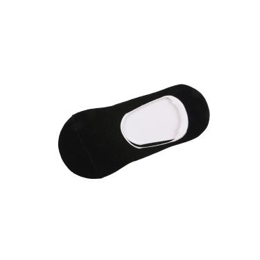 中性款隱形素面撞色船襪/兩雙入