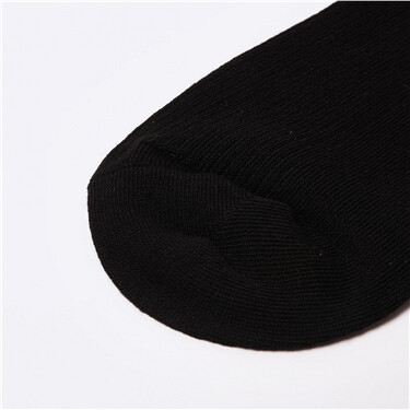Solid crew socks (2-pairs)