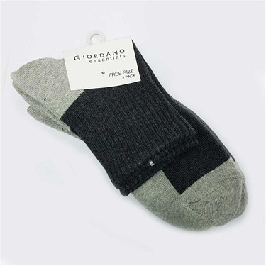 Pile socks(2-pairs)