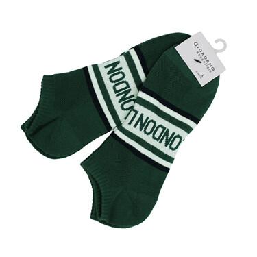 Giordano Unisex Print Ankle Socks (2-pairs)